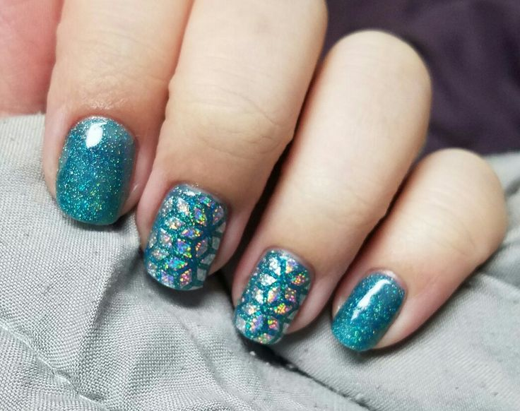 Teal the Show and Geo Diamond Jamberry ♡ breanndjimerson.jamberrynails.com