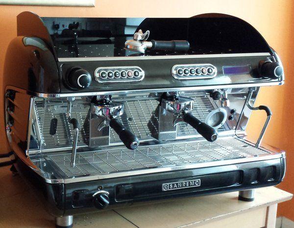 Sanremo Verona 2 group espresso coffee machine inc grinder