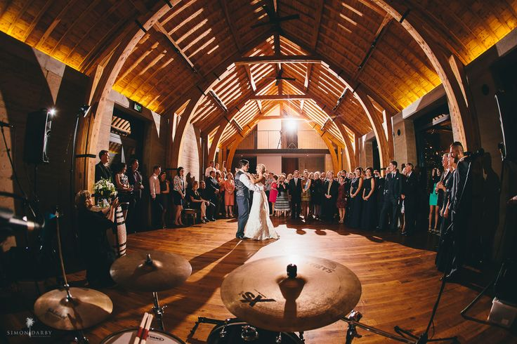 The fabulous first dance at The Rippon Hall, a Lake Wanaka vineyard venue