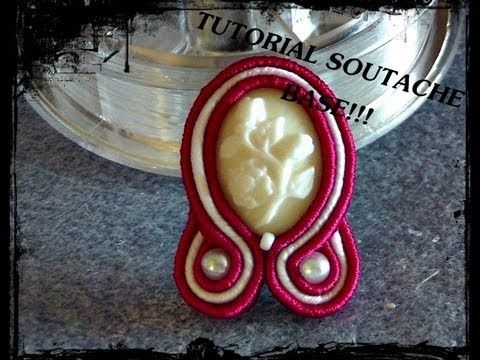 ▶ TUTORIAL SOUTACHE: TECNICA BASE! - YouTube