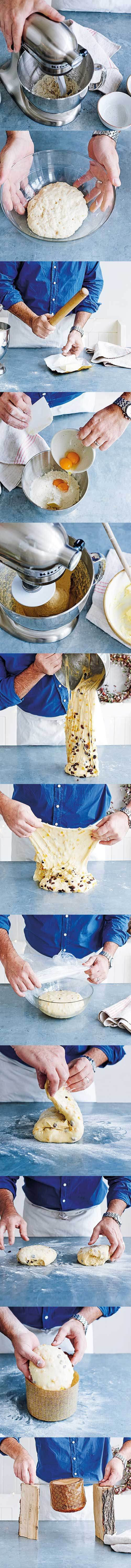 Learn how to make perfect panettone with brilliant baker Richard Bertinet. The sweet, fragrant fruity bread is one of Italy's favourite Christmas treats for a reason.