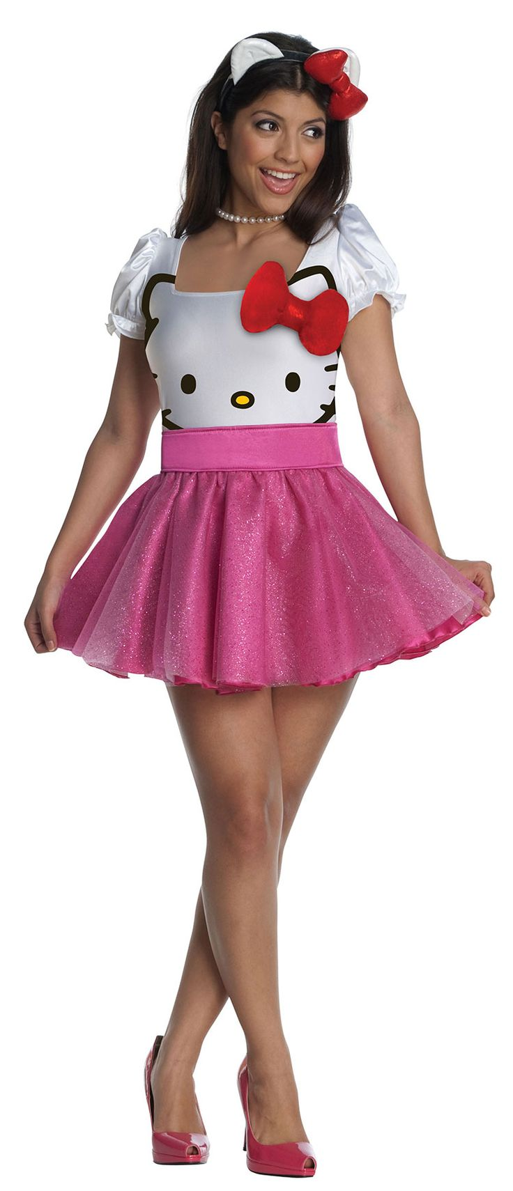 is it bad that i would wear this hello kitty halloween costume as a normal outfit?