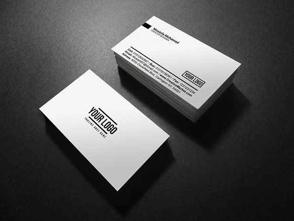 78 best business card designs images on pinterest business card creative individual business card templates x with bleed 300 dpi cmyk print ready full editable layered minimal by mustaart pronofoot35fo Gallery
