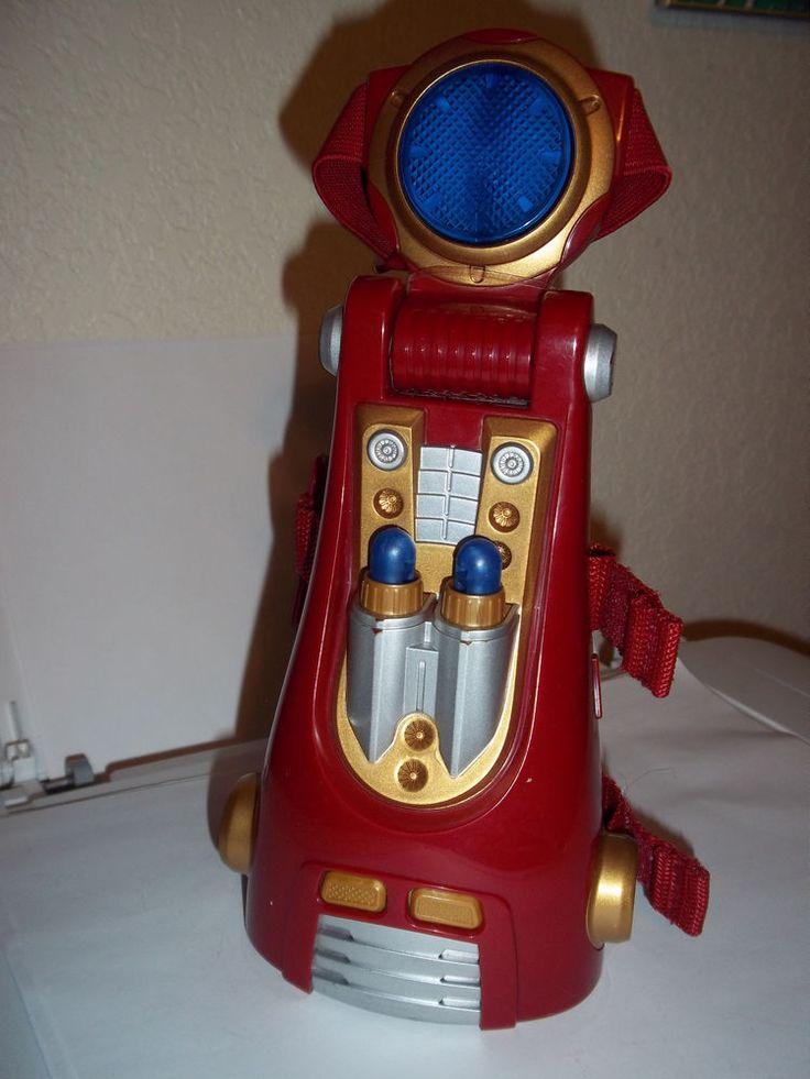 2010 Hasbro Marvel Iron Man Arm Repulsor Dart Blaster Sound Prop Costume #Hasbro
