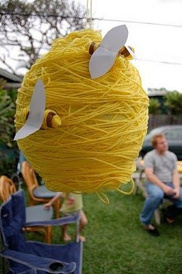 Be Different...Act Normal: Beehive Pinata