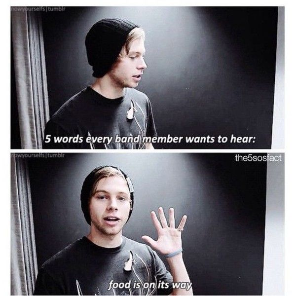 Luke Hemmings ❤ liked on Polyvore featuring 5sos and celeb