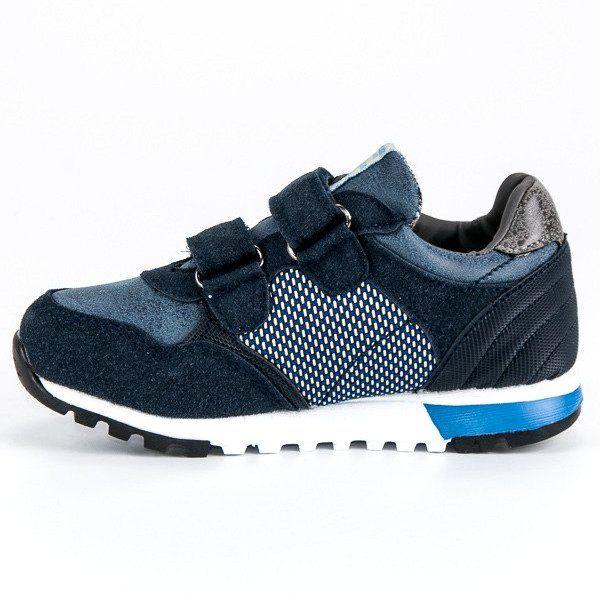 Buty Sportowe Dzieciece Dla Dzieci Americanclub Niebieskie Granatowe Buty Sportowe American American Club Kids Sports Shoes Winter Shoes Sport Shoes