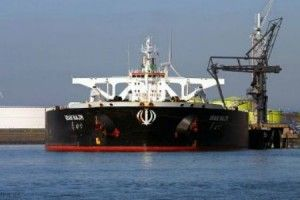 Showdown: Iran stockpiling oil by the millions of barrels in tankers
