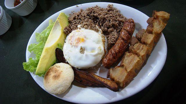 Celiak w podróży: Wesoła kuchnia kolumbijska.