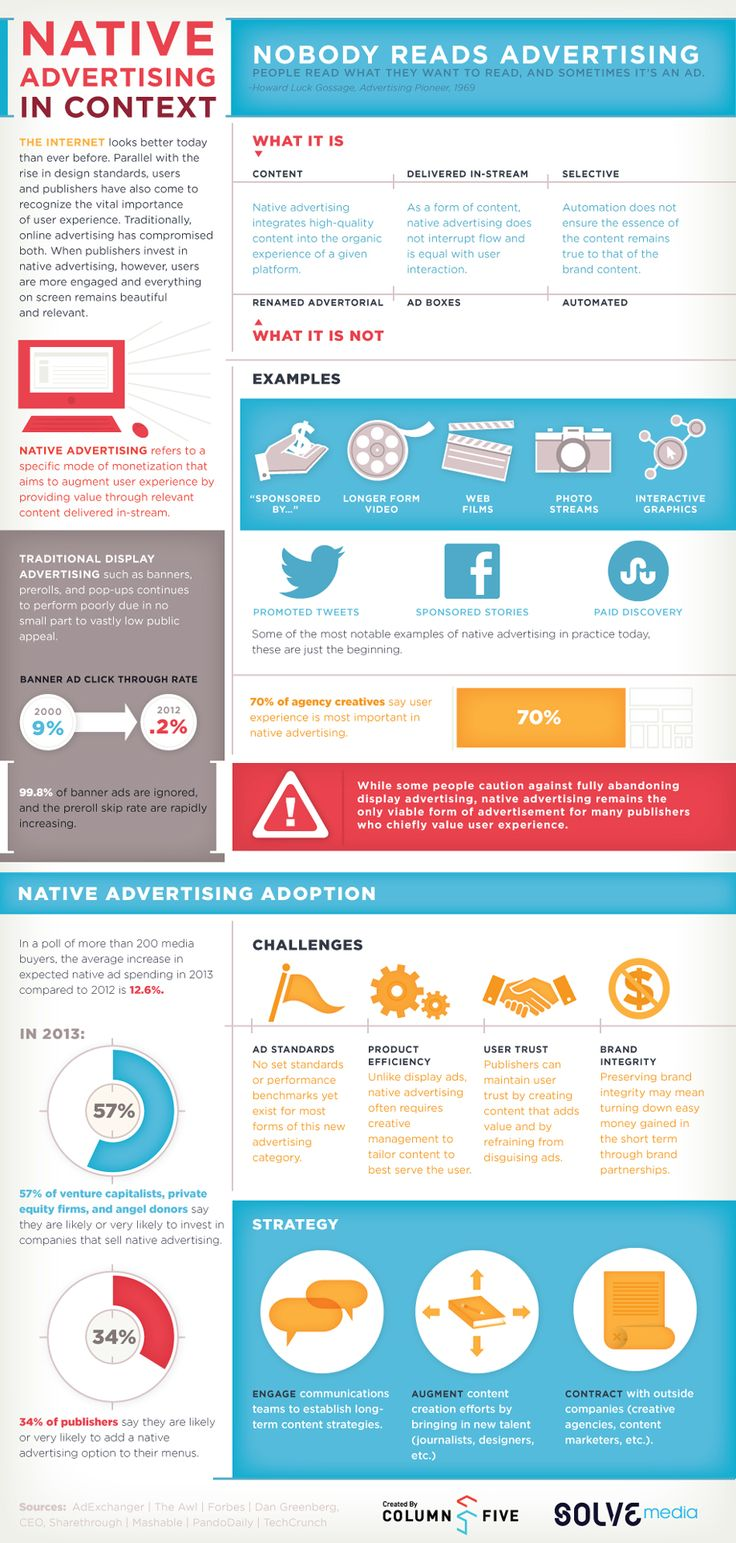 Evaluating Native Advertising in Context #ads #infographic