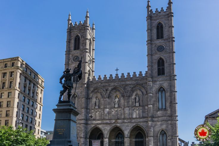 The Notre Dame Basilica of Montreal.   Read more about our two days in and around the Montreal area.