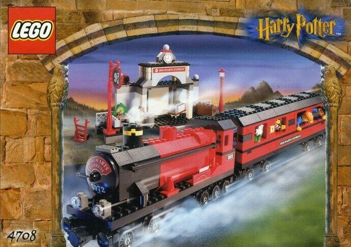 Lego 4708 Harry Potter Zug Train Collectors Item Sammlerstuck Bahnsteig Sammlerstucke Lego Eisenbahn Lego