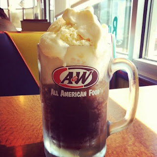 Rootbeer!!! A Rootbeer Float. Photo by Maddie Dierkes