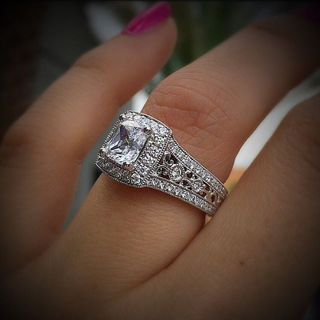 17 Best Images About Gabriel & Co. Engagement Rings On