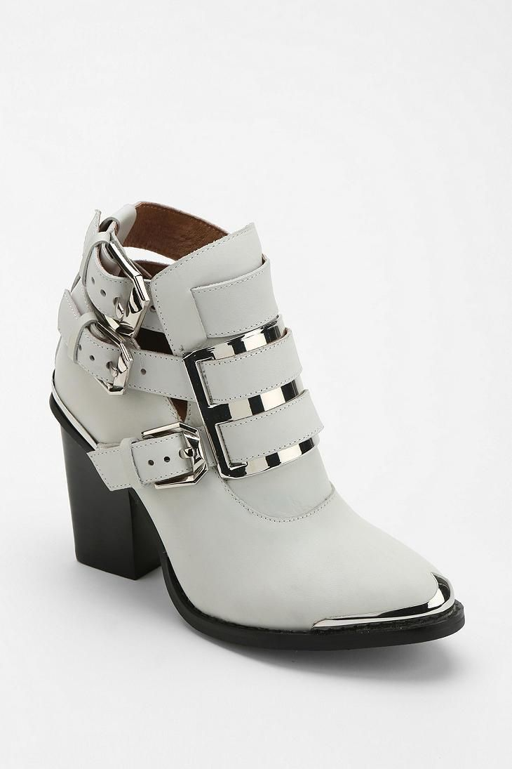 Jeffrey Campbell Hyatt Buckle Ankle Boot #urbanoutfitters