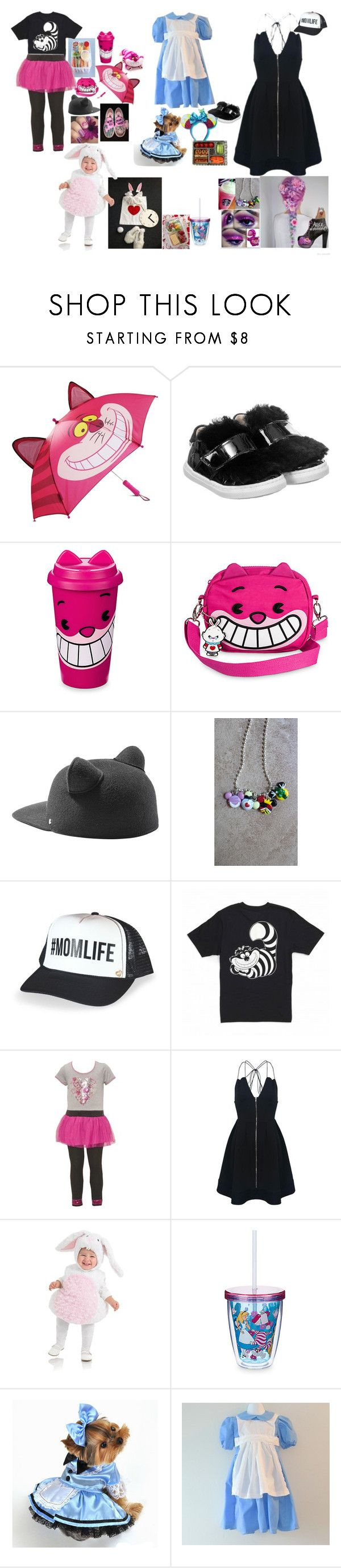 """matching bears"" by angelika-andrades ❤ liked on Polyvore featuring Disney, step2wo, Cotton Candy, Karl Lagerfeld and Mother Trucker"