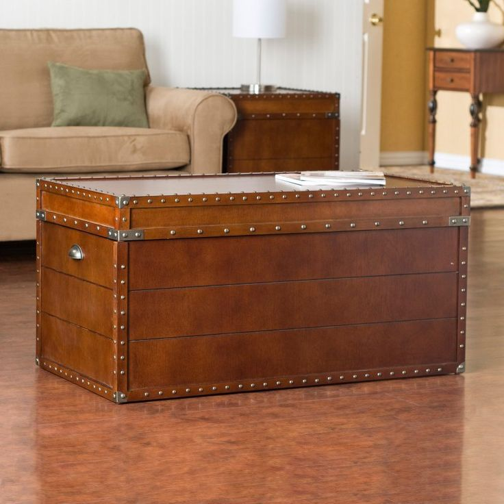 Southern Enterprises Streamer Trunk Coffee Table - CK4191