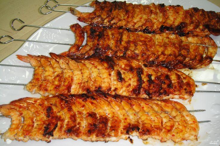 Шашлык из рыба видео рецепты