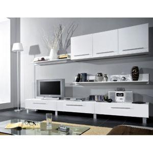 Casarredo Obývací stěna MONICA bílá