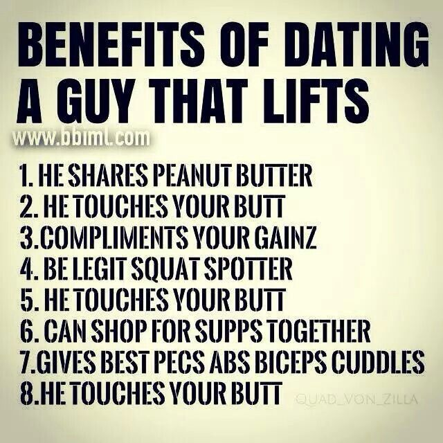 Benefits of dating a muscular guy