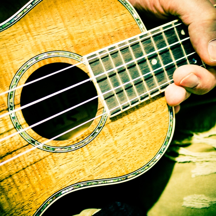 Brand new Lanikai #ukulele in my hot, little hands. #uke #love