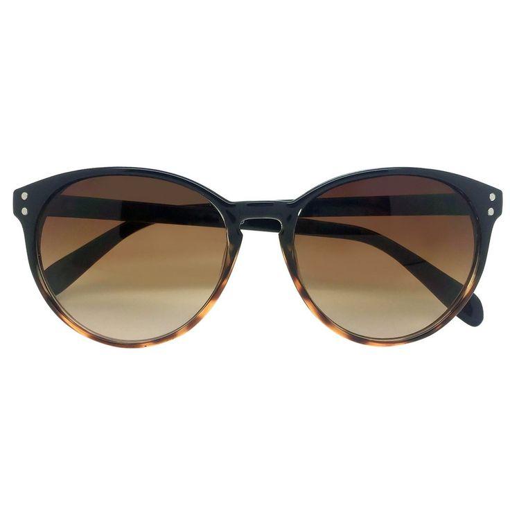 Women's Cat Eye Sunglasses - Black Tortoise