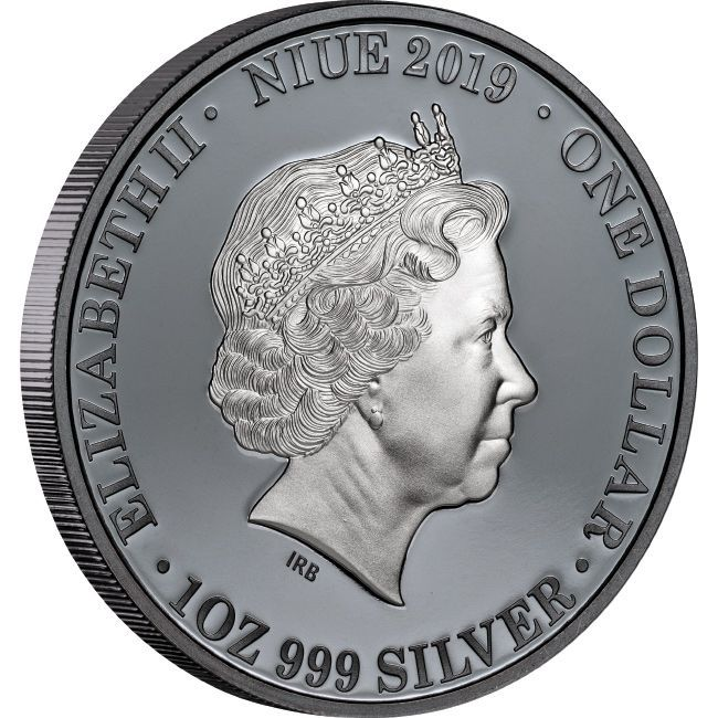 2019 1oz 999 1 Dollar Kangaroo Australia At Night Silver Black Proof Coin Direct Coins Australian Animals Silver Coins Proof Coins