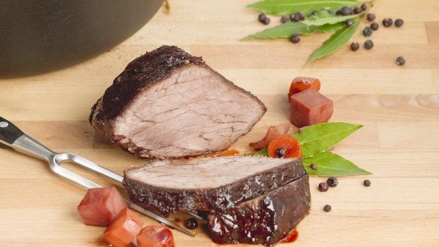 marynowana wołowina