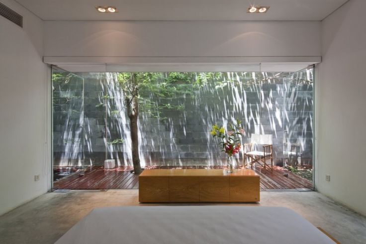 Guest suites will also have their own outdoor spaces for contemplation and relaxation... M11 HOUSE, HOCHIMINH BY A21 STUDIO