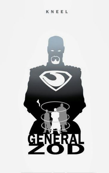 Kneel - General Zod by Steve Garcia