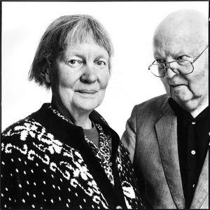 Richard Avedon Portraits - Iris Murdoch  John Bayley, author of IRIS  12.01.1995