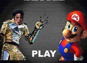Michael Jackson vs Mario Bros | Juegos de Michael Jackson vs Mario Bros | Juegos Gratis