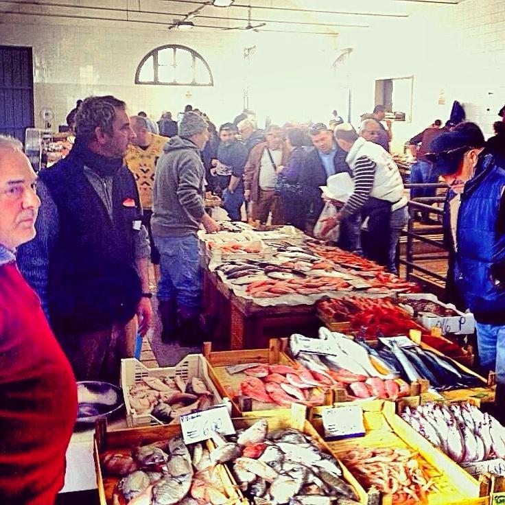 Trapani. Mercato del Pesce di Via Carolina.
