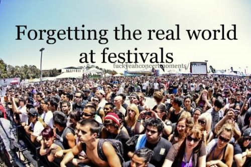 best feeling in the world, leaving everything behind, and just living in the moment #musicfestivals #love