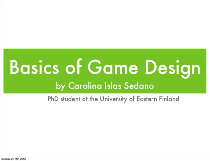 Video Game Design Workshop