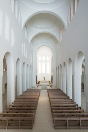 227 best images about church design curved on pinterest for Interior design augsburg