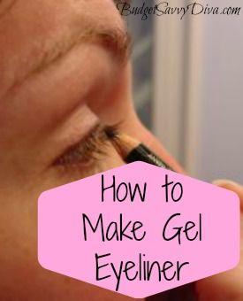How to Make Gel Eyeliner