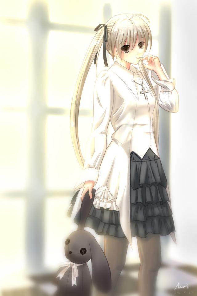 Manga fille lapin peluche kawairashi onnanoko pinterest manga - Se connecter a pinterest ...