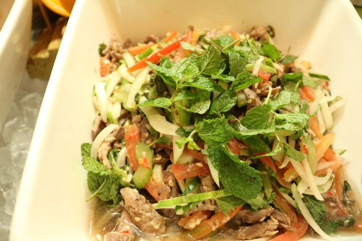 'Yam Nua' (Spicy Thai Beef Salad)