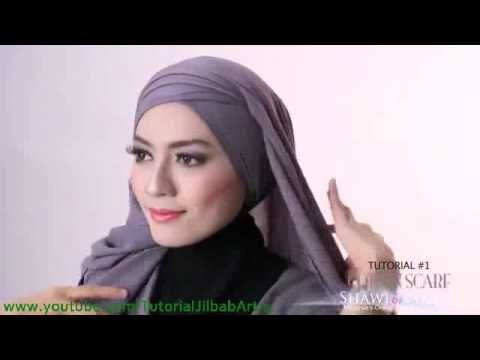 Tutorial Terbaru 2017 Hijab Pashmina Seferhana tapi Elegan
