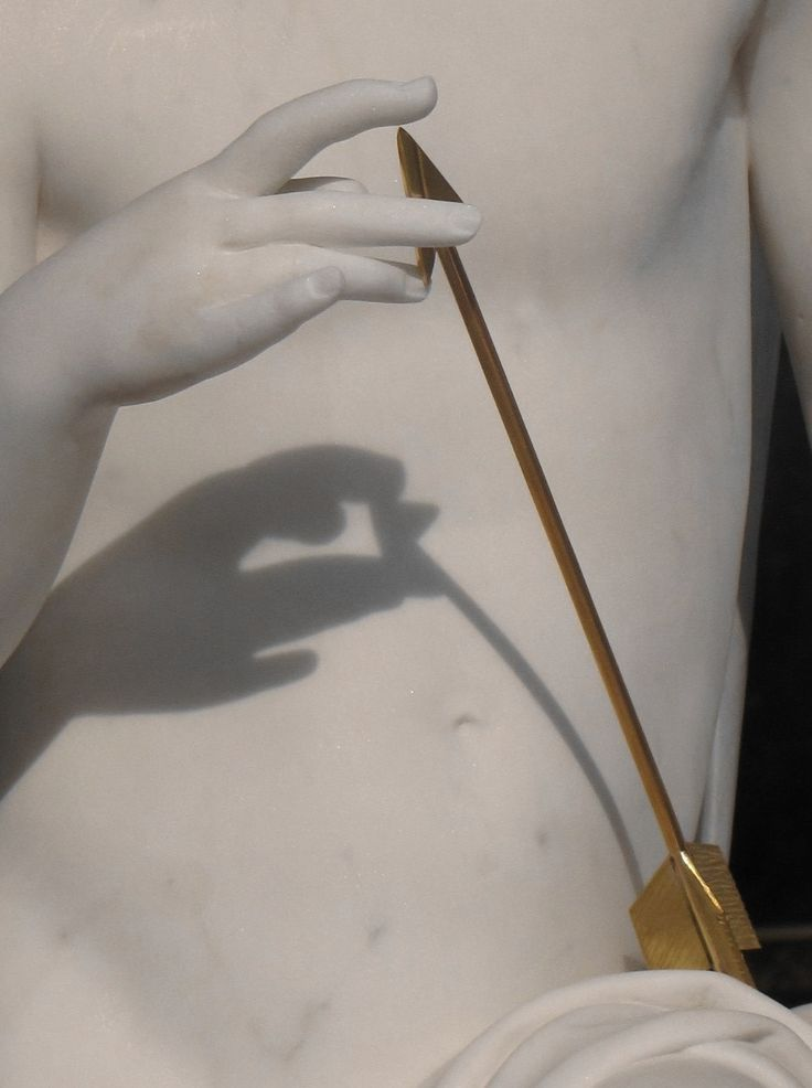 Eros shot an arrow at both Apollo and Daphne, making Apollo infatuated with Daphne. However, Daphne was scared and disliked Apollo.