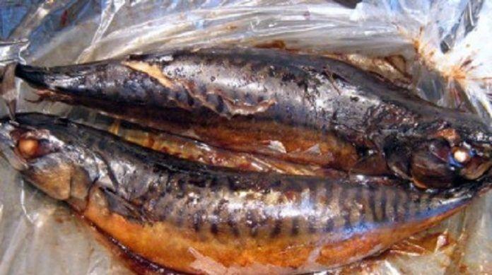 Рыба «горячего копчения» в пакете для запекания
