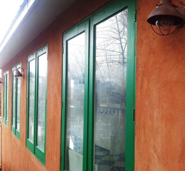 Villa Ovest Outside detail at Villa Ovest