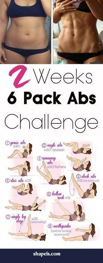 15 min außergewöhnliches 6er Pack ab Workout #absworkoutgymabroutine, #abswork…