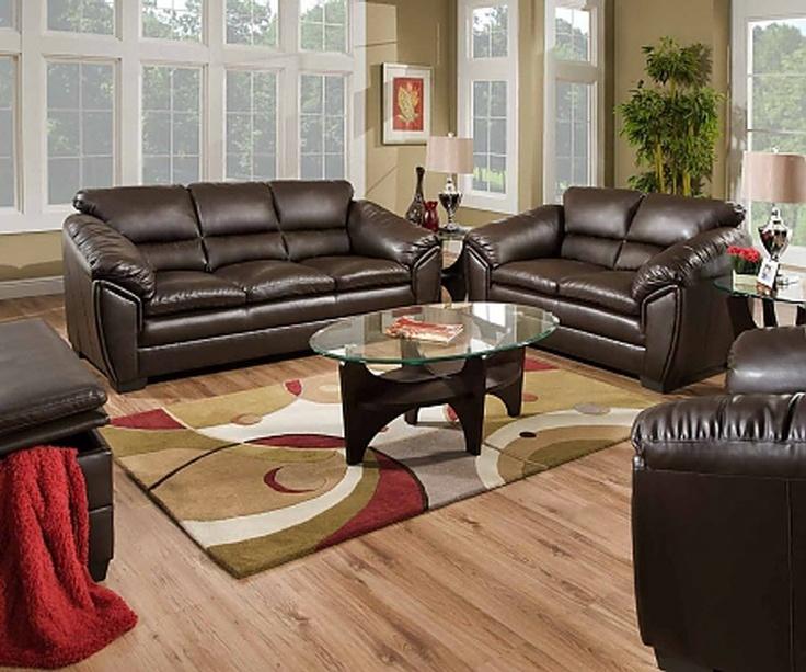 Furniture Design Living Room Sofas And Sets Leather Sofa 2 Pc Kenya Collection Godiva Espresso Bonded Match
