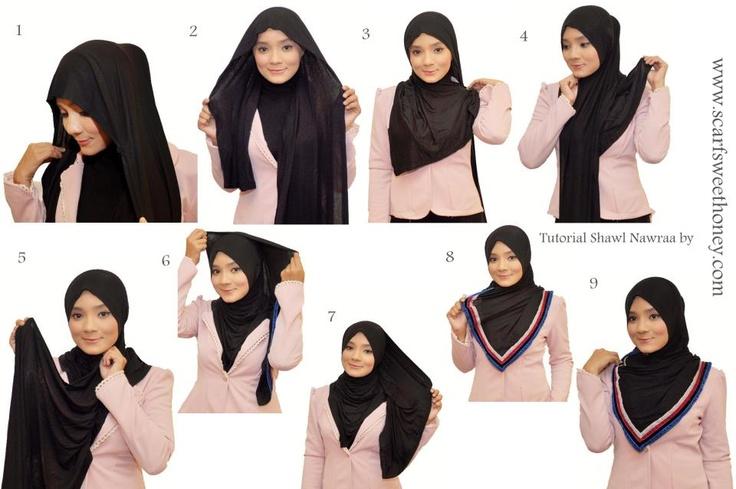 Hijab Tutorial ~ Scarf Sweethoney