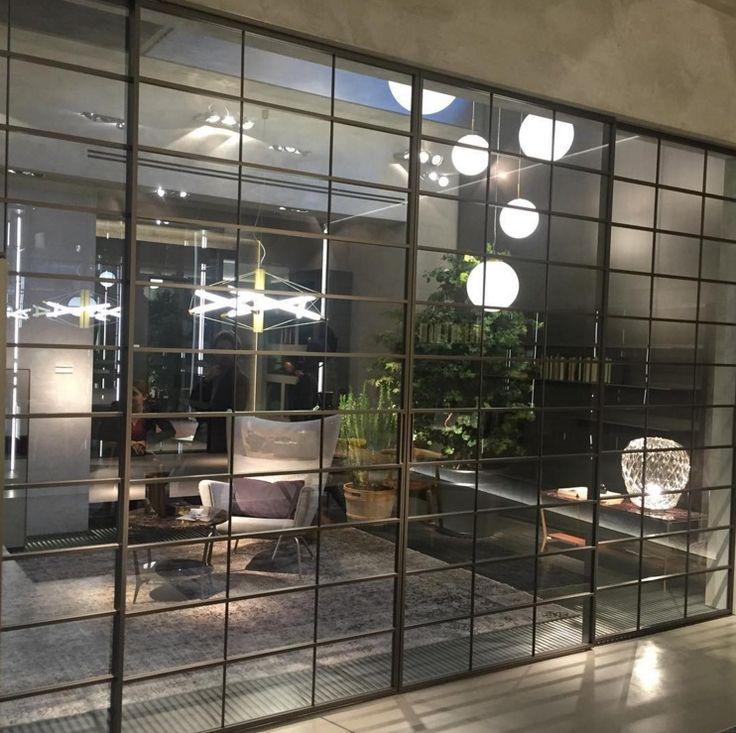 rimadesio soho sliding doors design glazen met