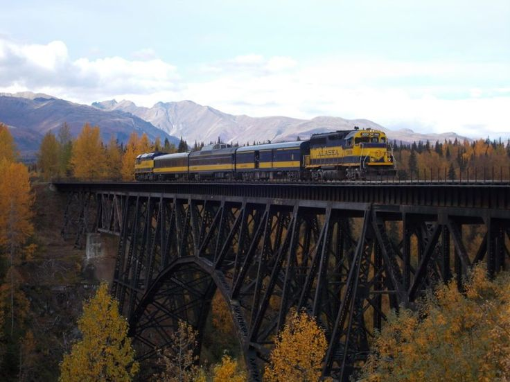 Enjoy Alaska rail tours by train to National Parks, Alaska cities with car rental & bus tour extensions from Alaska Tours, leading Alaska travel since 1991.