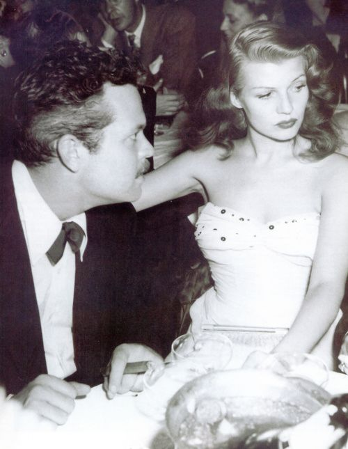 Rita Hayworth + Orson Wells