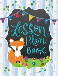 """This Woodland Friends lesson plan book offers 2-page lesson plan spreads for 40 weeks of teaching. 8½"""" x 11"""", spiral bound.  Features these helpful resources:  Student contact information list Substitute teacher information Seating chart Student transportation chart Weekly schedule Birthdays chart """"Class News"""" template """"Notes from the Teacher"""" templates Long-term planning calendar 40 weeks of lesson plan pages Notes page"""